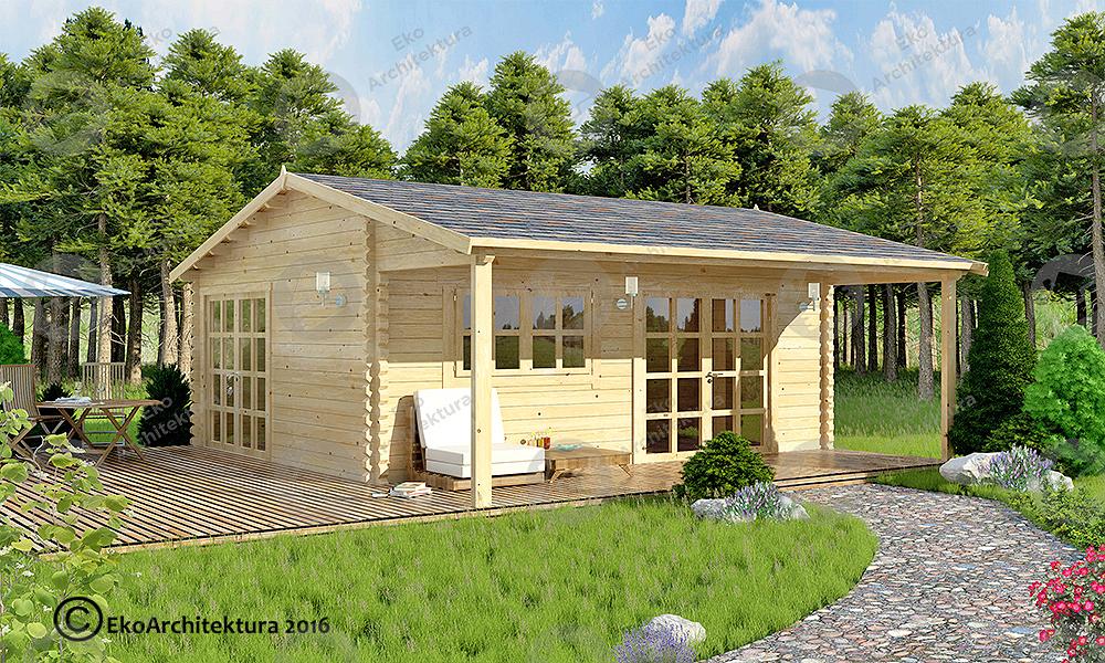 drewniane domki bez pozwolenia